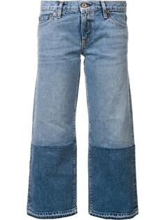 two-tone cropped jeans Simon Miller
