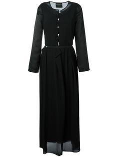 длинное платье-рубашка Erika Cavallini