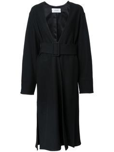 wrapover coat Lemaire
