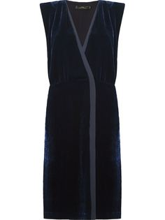 midi velvet dress Andrea Marques