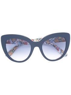 солнцезащитные очки в оправе 'кошачий глаз' Dolce & Gabbana