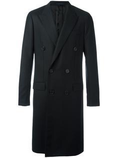 двубортное пальто Lanvin
