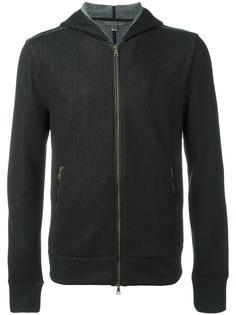 куртка на молнии с капюшоном John Varvatos