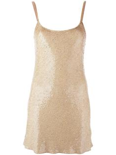 sequined slip dress Ashish