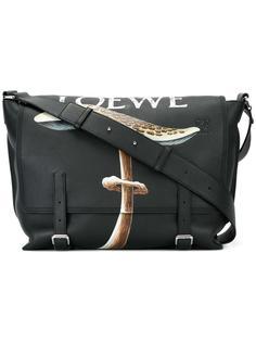 сумка-сэтчел с откидным клапаном Loewe