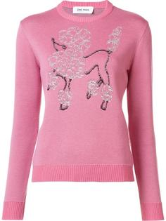 poodle embroidered jumper Jimi Roos