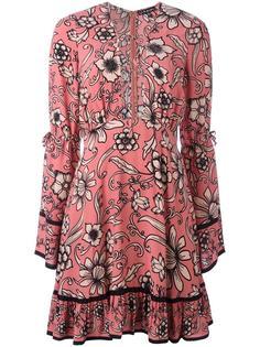 расклешенное платье с цветочным узором For Love And Lemons