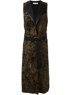 пальто без рукавов  Marni