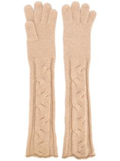 long knitted gloves  Loro Piana