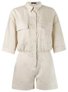 linen playsuit Andrea Marques
