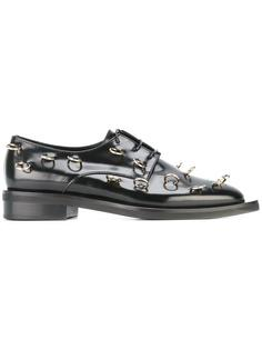 piercing embellished Derby shoes Coliac