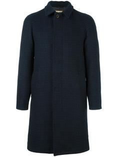 houndstooth pattern coat Sealup