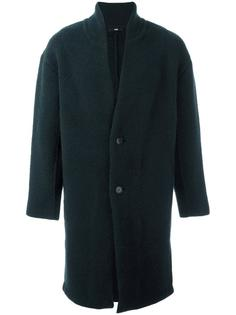 single breasted coat System Homme