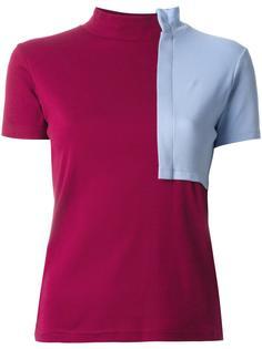 colour block roll neck T-shirt Jacquemus
