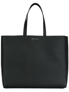 logo plaque tote Orciani