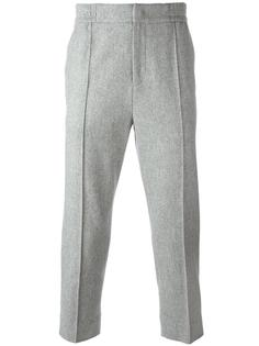 slim-fit trousers System Homme