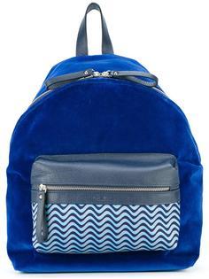 бархатный рюкзак с передним карманом Fefè