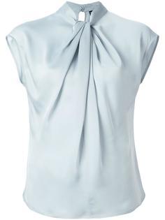блузка с рюшами Giorgio Armani
