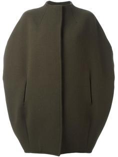 пальто без воротника с короткими рукавами Gianluca Capannolo