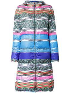 стеганое пальто с капюшоном Missoni