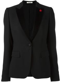 приталенный пиджак-смокинг Lardini