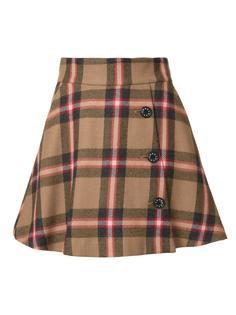 plaid A-line skirt Loveless