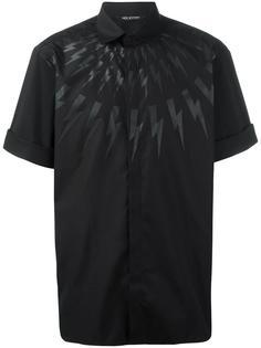 рубашка с принтом вспышек молнии Neil Barrett