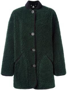 однобортное пальто Paul Smith Black Label