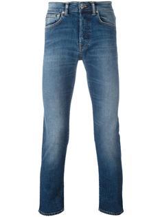 джинсы кроя слим с потертым эффектом Edwin