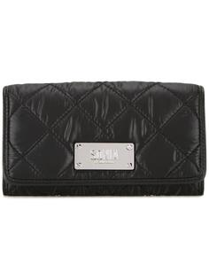 quilted flap closure wallet Sonia By Sonia Rykiel
