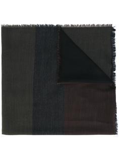 шарф дизайна колор-блок Fendi