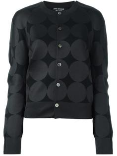 jacquard button down cardigan Junya Watanabe Comme Des Garçons