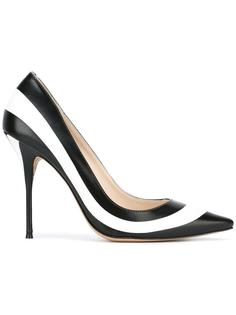 полосатые туфли на шпильках Sophia Webster