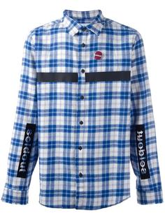 patched checked shirt Sold Out Frvr