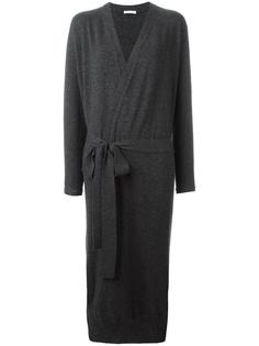 long tied waist cardigan Tomas Maier