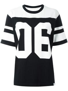 football shortsleeved sweatshirt White Mountaineering