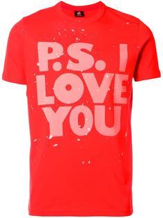 футболка 'P.S.I Love You' Ps By Paul Smith