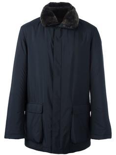 куртка-ветровка с меховым воротником Loro Piana