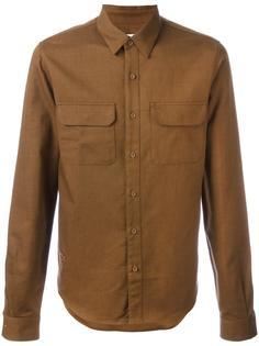 рубашка со срезанным воротником Lacoste