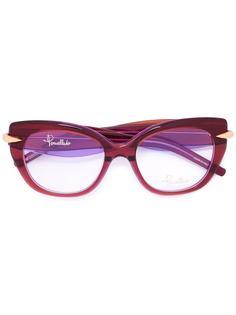 cat eye glasses Pomellato