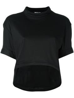 укороченная футболка с закругленным подолом Haus By Ggdb