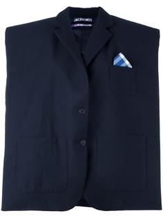структурированный объемный пиджак Jacquemus