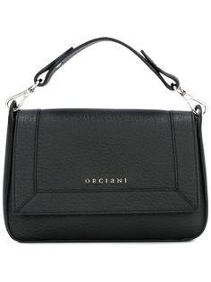 сумка-тоут с откидным клапаном Orciani
