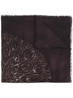 patterned scarf Loro Piana
