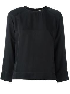 блузка со сборочным воротником Bellerose