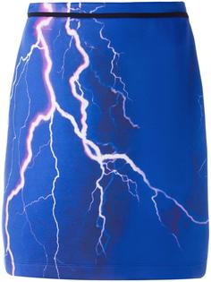 lightning print skirt Carven