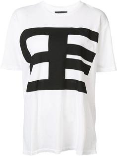 logo print T-shirt Baja East