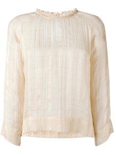 блузка в клетку Bellerose