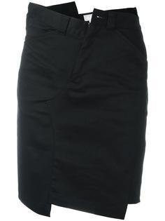 асимметричная юбка Ganryu Comme Des Garcons