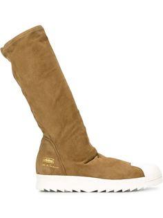 сапоги на резиновой подошве Rick Owens x Adidas 'Superstar'  Adidas Originals